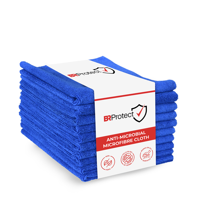 BRProtect Antimicrobial Microfibre Cloth